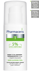 PHARMACERIS T SEBO-ALMOND PEEL 5% krem 50ml